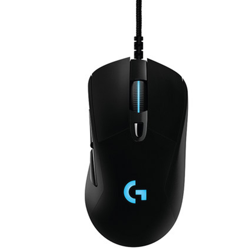 Logitech G403 Prodigy Wired Gaming Mouse with High Performance Gaming Sensor logitech g403 prodigy wireless gaming mouse with high performance gaming sensor