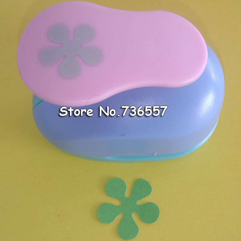 2 inch (4.7cm) flower design scrapbooking punch eva foam punch paper punches for paper crafting projects цены онлайн