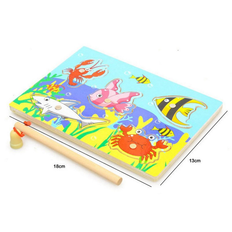 Hot-Kids-Wooden-Magnetic-Fishing-Game-Puzzle-Toys-For-Toddlers-Kids-Children-Educational-Fish-Parent-child-Interaction-Toy-new-5