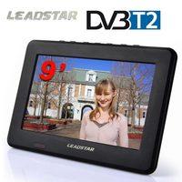 LEADSTAR tv HD цифровой и аналоговый телевизионный ресивер светодиодный автомобильный тв Поддержка TF карта USB Аудио Видео Воспроизведение DVB-T2 AC3