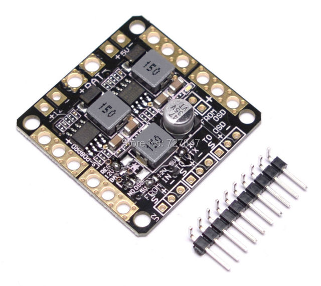 2-6 S Power distribution board/5 V 12 V Dual BEC/LC filter 3 in 1 PCB/PDB Board voor 250 RC Multicopter