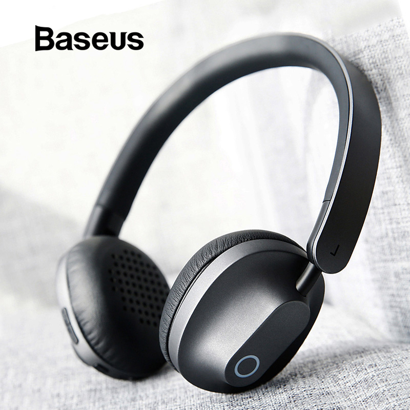Baseus D01Bluetooth Headphones Bass Noise Canceling Wireless Headphone Big Wire Headset for PC Gaming Earphone Xiaomi Ecouteurs-in Phone Earphones & Headphones from Consumer Electronics on AliExpress - 11.11_Double 11_Singles' Day 1