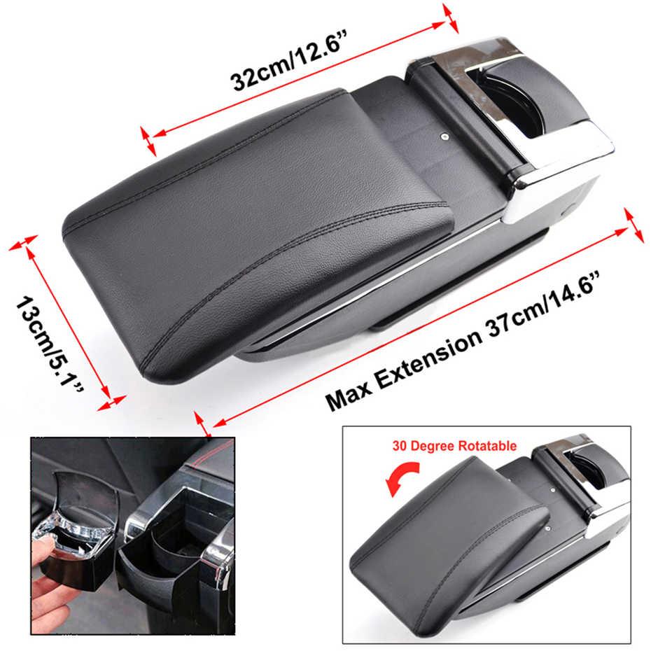 Accoudoir pour Opel Vauxhall Astra J repose-bras rotatif boîte de rangement décoration voiture style 2009 2010 2011