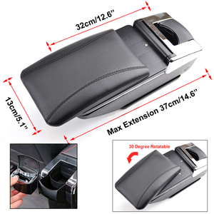Image 5 - Armrest For Opel Vauxhall Astra J Arm Rest Rotatable Storage Box Decoration Car Styling 2009 2010 2011