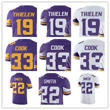 ccc61b60a Men s Adam Thielen Dalvin Cook Harrison Smith Stefon Diggs Vikings Vapor  Untouchable Color Rush Minnesota Jerseys