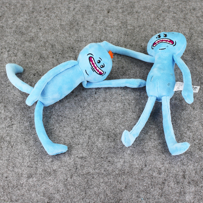1pcs-Rick-and-Morty-Happy-Sad-Mr-Meeseeks-stuffed-plush-toy-free-shipping-2