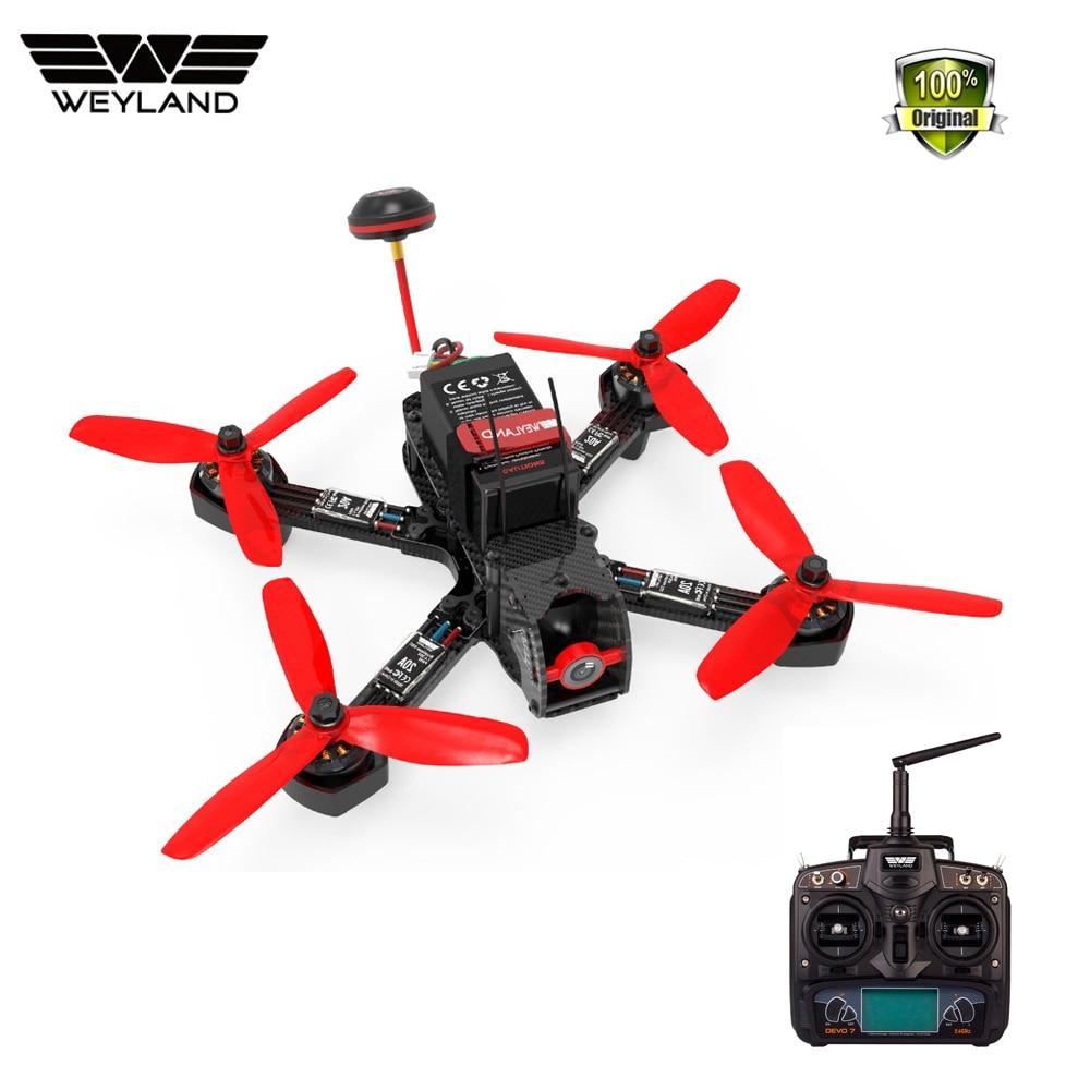 Welyand Furieux 215 QAV F3 F4 Pro Flight control Pur Cadre En Fiber De Carbone Quadcopter FPV RC jouets Racing Drone 4mm RC cadre qav215