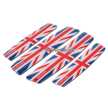 Car Styling The Union Jack Car Door Sticker For MINI COOPER BMW Ford Chevrolet Volkswagen Audi Opel Volvo Mazda Infiniti Citroen