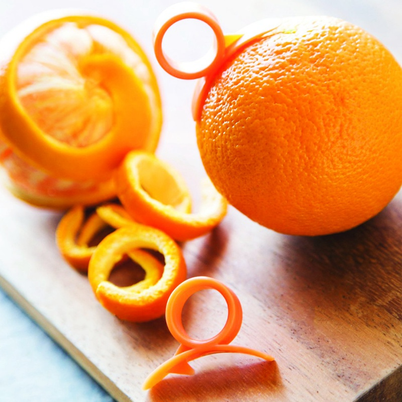orange peelings