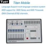 Titan мобильный регулятор сценического освещения 8192 каналов профессиональная консольная часть освещения DJ диско огни оборудования