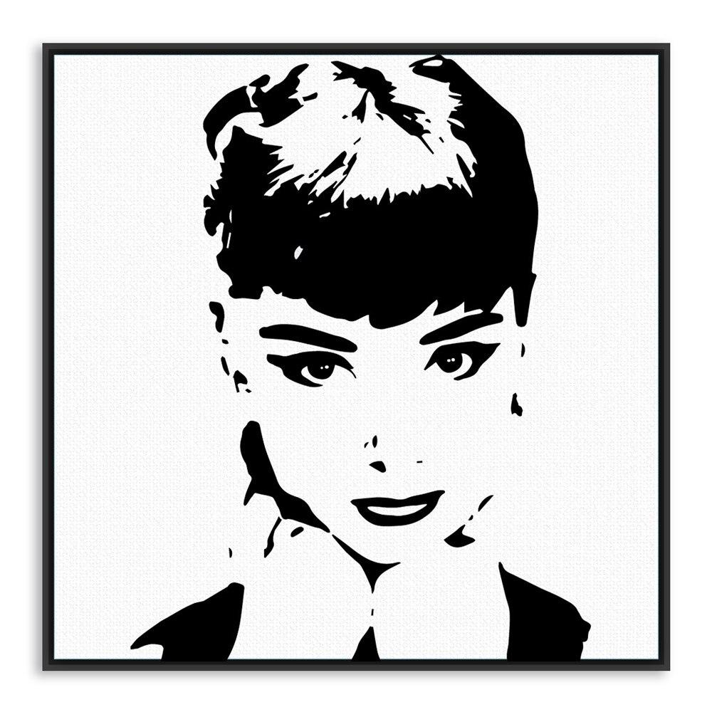 Audrey Hepburn Leinwand Bild Audrey Hepburn Led Leinwand Kaufen