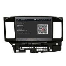 5.1.1 Cable Quad android GPS de Radio para Mitsubishi Lancer 10.2 pulgadas 1024X600 pantalla 2 DIN unidad principal estéreo WIFI 3G envío mapa