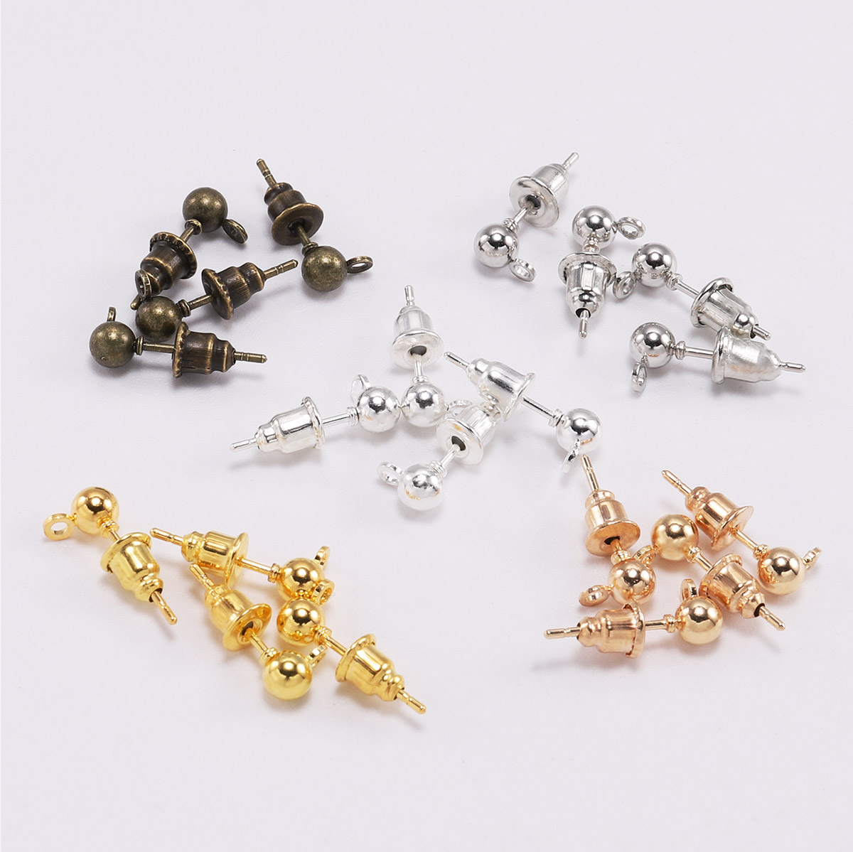 500Pcs Stainless Steel Flat Head Pins 23 Gauges Jewelry Making Head Pins 1.49 for Beading Charm DIY Craft