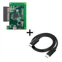 Type C Thunderbolt 3 to PCI Express PCI E SSD Nvme NGFF M key Convert Card Cable