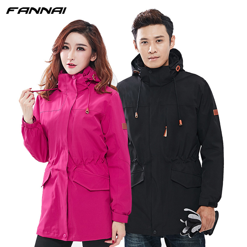 2 in 1 Winter Softshell Waterproof Jacket Women Men Windbreaker Fleece Heated Jackets Outdoor Camping Hiking Fishing Skiing Coat цена 2017