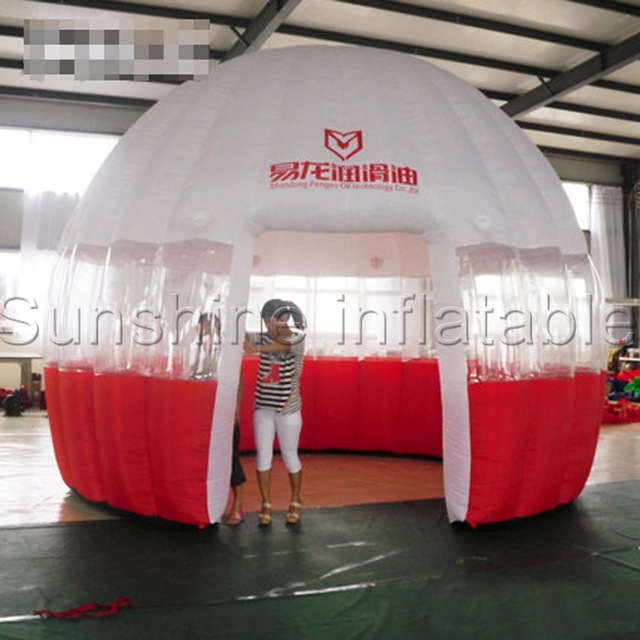 Portable Exhibition Games : Bubble inflatable dome tent custom trade show portable exhibition