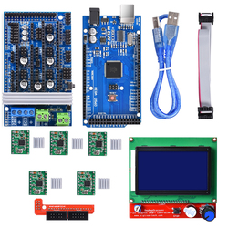 3D Printer Parts Ramps 1.6 kit upgrade Base on Ramps 1.4 1.5 with Mega2560 Board Reprap Control +12864LCD+A4988/Drv8825 Driver