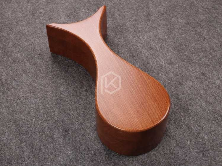 Classic Elm Wood earphone Stand High Quality Hanger Holder Desk Display Stand holder Fashion Display