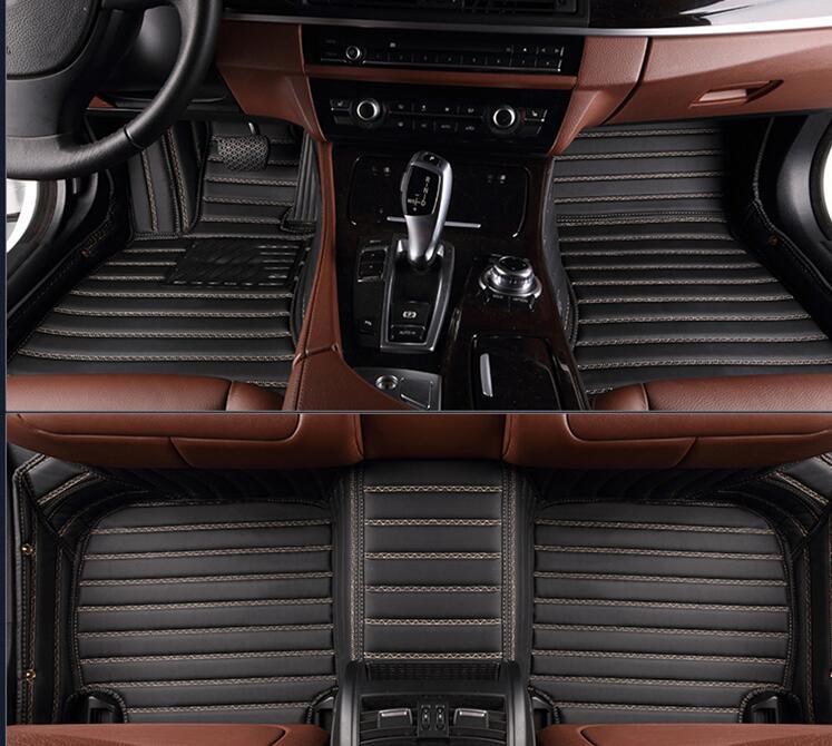 Tapis de bonne qualité! Tapis spéciaux faits sur commande de plancher de voiture pour Mitsubishi Pajero Sport 5 sièges 2019-2008 tapis imperméables, livraison gratuite