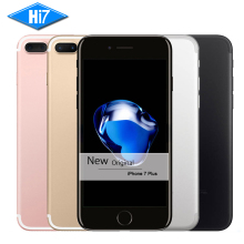 Neue original apple iphone 7 plus 3 gb ram 32/128 gb/256 gb rom quad-core fingerabdruck 12mp ios 10 lte 12.0mp kamera handy