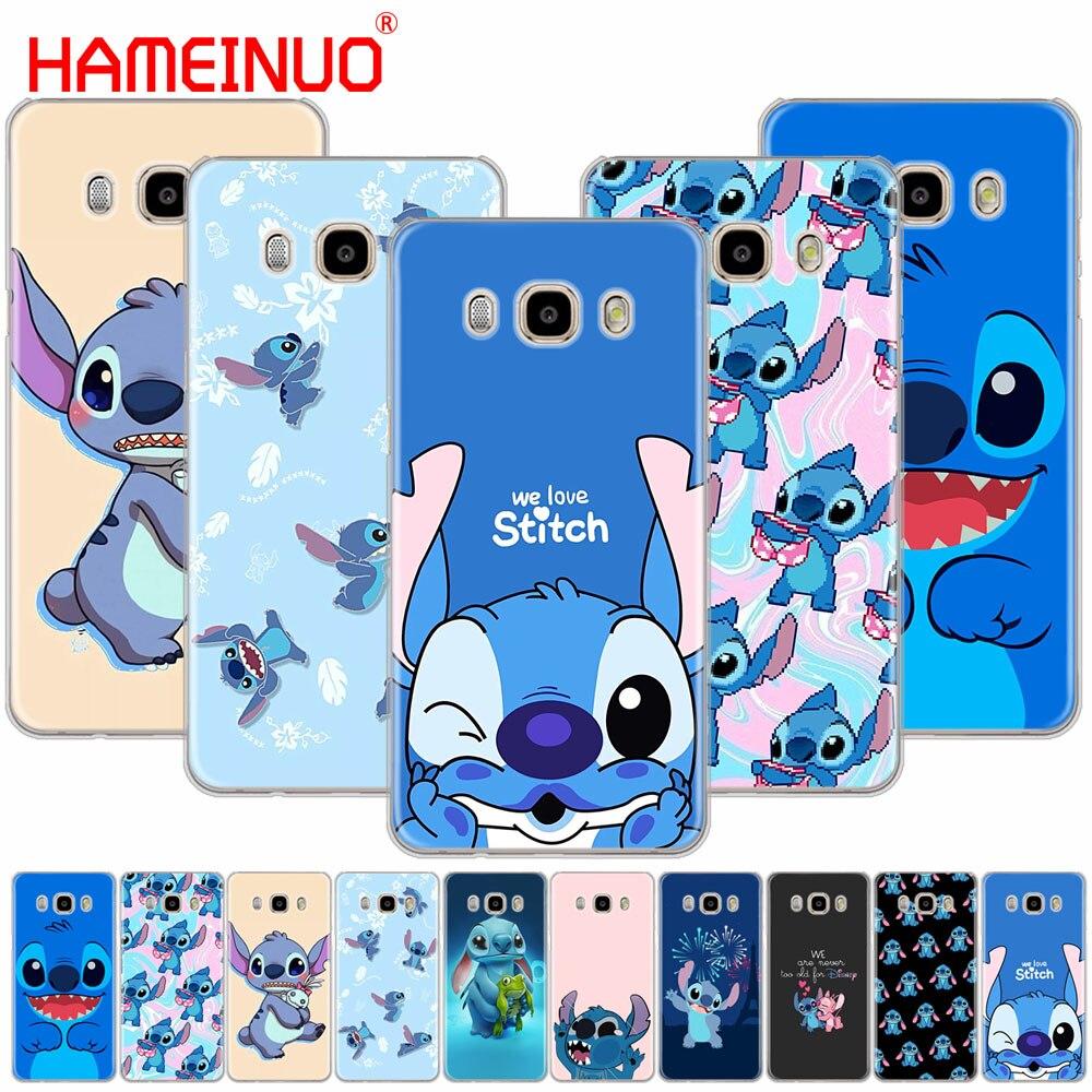 HAMEINUO Cute Cartoon Stich cover phone case for Samsung Galaxy J1 J2 J3 J5 J7 MINI ACE 2016 2015 prime