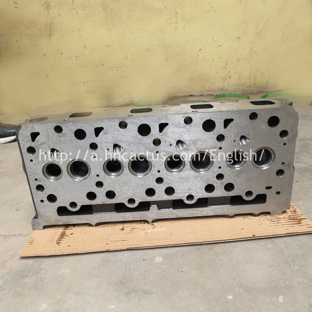 US $217 39 10% OFF|High performance Promotional price Iron Cast Auto Engine  Parts V2203 V2403 cylinder head for Kubota-in Cylinder Head from