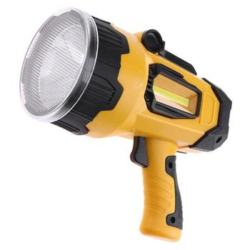 Usb 충전식 10 w led 휴대용 스포트 라이트 슈퍼 밝은 손전등 4 모드 홍수 빛 램프 비상 야간 lamptorch 랜턴
