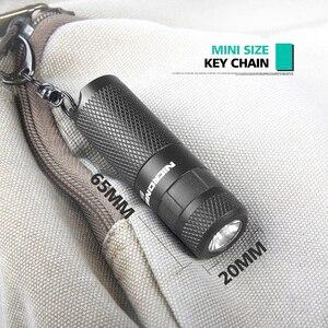 Image 4 - NICRON سلسلة مفاتيح بكشاف LED صغير 3 واط USB قابلة للشحن المدمجة مصباح مصباح شعلة مقاوم للماء 3 طرق للمنزل في الهواء الطلق الخ