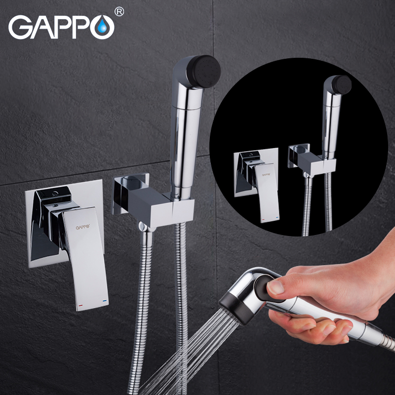 GAPPO Bidets muslim shower toilet shower sprayer bidet tap hygienic shower wall mounted enema shower head gappo bidet faucets muslim shower toilet bidets sprayer hygienic shower wall mount washer mixer tap