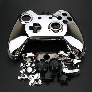 Image 5 - YuXi for Xbox One Replacement Chrome Full Shell And Buttons Mod Kit Matte Controller Custom Cover Housing