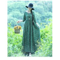 Women Summer Elegant O Neck Half Sleeve Pockets Loose Vestido Casual Work Loose cotton Dress Sundress Oversized PP 368