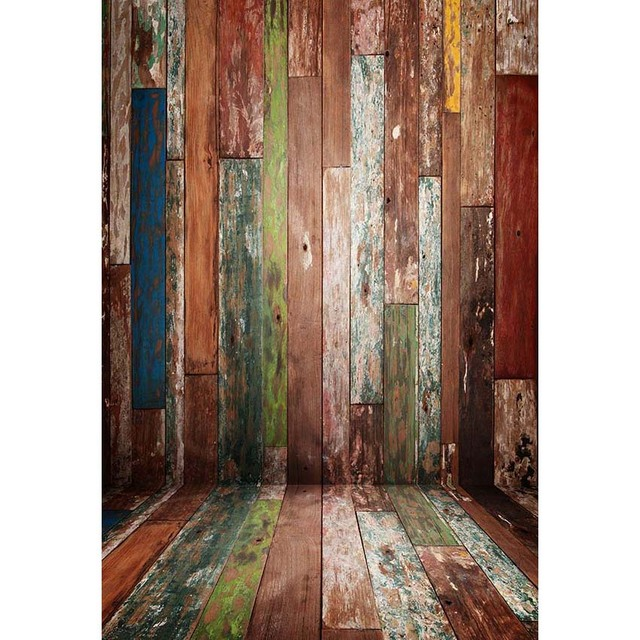 Rustic Wood Background For Photo Studio Newborn Baby