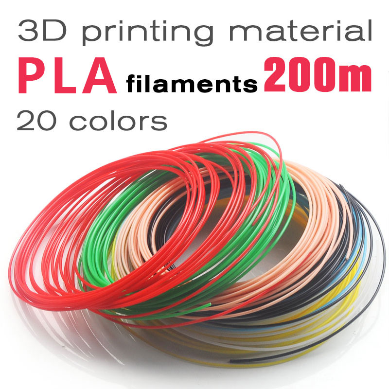 No pollution pla 1.75mm 20 colors 3d pen filament pla filament 3d pen pla plastic abs plastic 3d printing filament 3d filament
