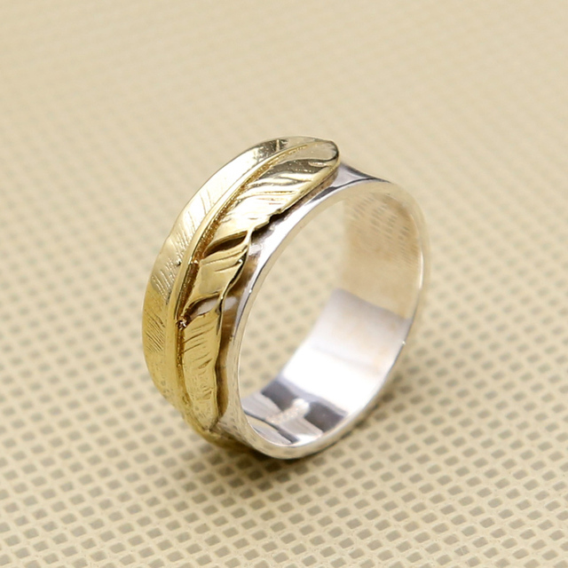 Vintage Indian Style Rings Men Women 100 Solid 925 Sterling Silver
