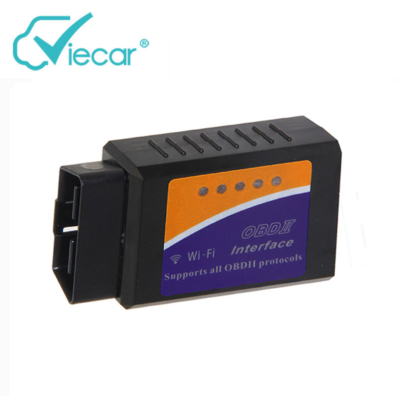 Elm327 V1.5 Wifi OBD2 Diagnostic Car Auto Scanner Elm 327 1.5 Wi-fi ODB2 Scan Tool Support For iPhone IOS System/Android Phone