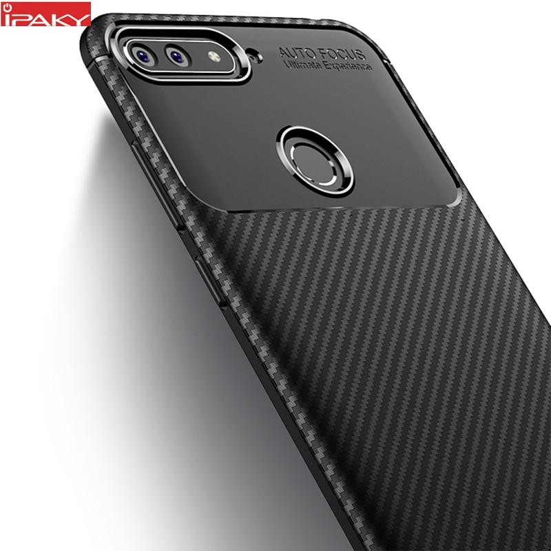 für Huawei Honor 7A Case IPAKY für Honor 7A Case Silikon TPU Carbon - Handy-Zubehör und Ersatzteile
