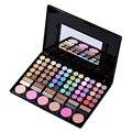 78 Colores de Sombra de Ojos Pro placa Rubor brillo de labios Combinación Caja Del Kit De Maquillaje Con Espejo Mujeres Contorno de Sombra de ojos Paleta de Herramientas