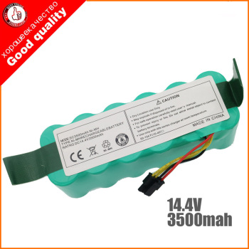 NI-MH 14.4V 3500mAh for panda X500 X600 x850 High quality Battery for Ecovacs Mirror CR120 Vacuum cleaner Dibea X500 X580 high quality vacuum cleaner parts pack for panda x500 ecovacs cr120 x600 side brush x 4pcs hepa filter x 2pcs