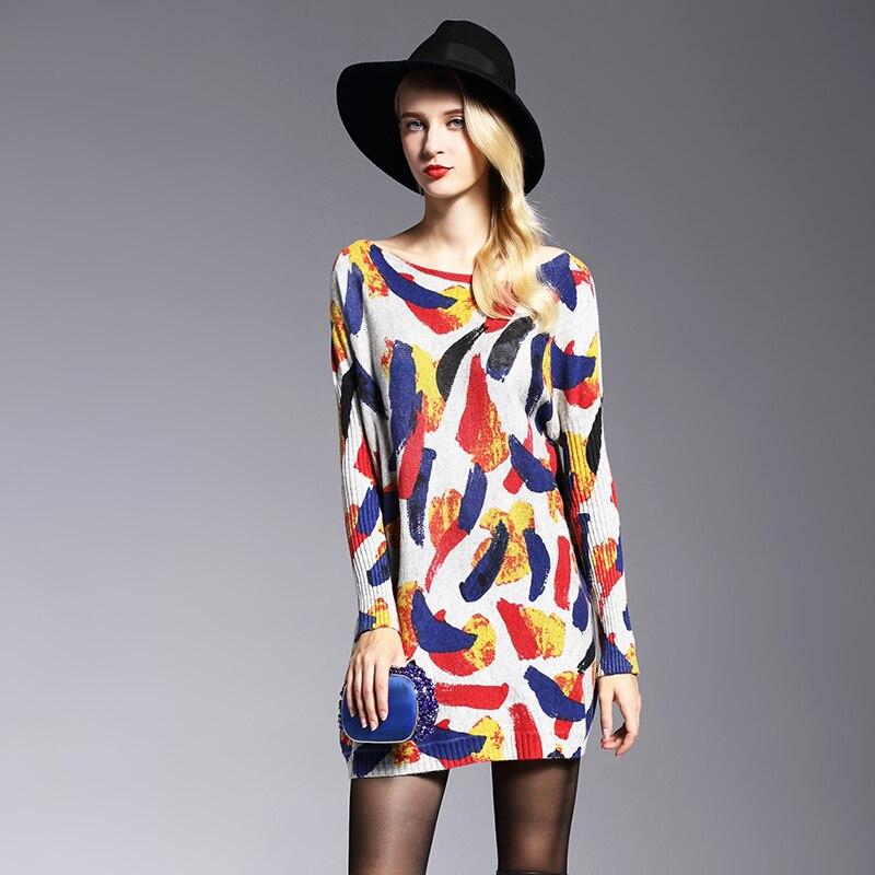 XIKOI oversize երկար կանանց սվիտեր - Կանացի հագուստ - Լուսանկար 4
