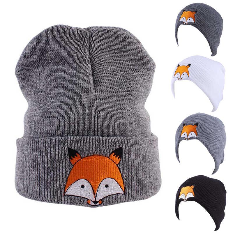 เด็กน่ารักฤดูหนาวหมวกถักเด็กเด็กเด็กทารกหมวกเด็กทารกเด็กวัยหัดเดินเด็กโครเชต์ Beanie หมวก Bonnet Enfant