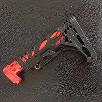 Zhenduo Gratis verzending Metalen AR gun Butt Speelgoed Pistool Accessoires