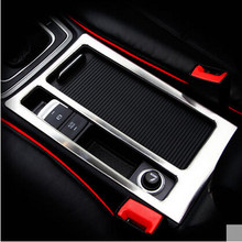 Car Styling Water Cup Frame Decoration Handbrake Panel Trim Covers Case For  VW Volkswagen Golf 7