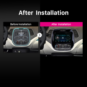 """Image 5 - Seicane Android 10.0 9"""" 2din Car Auto Radio For  Renault Captur CLIO Samsung QM3 Manual A/C 2011 2016 GPS Navigation with WIFI"""