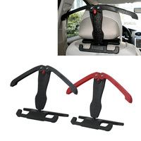 Dongzhen 1X Car Hanger Clothe Rack Headrest Seat Coat Hangesr Auto Seat Hanger Hooks Suits Shirts