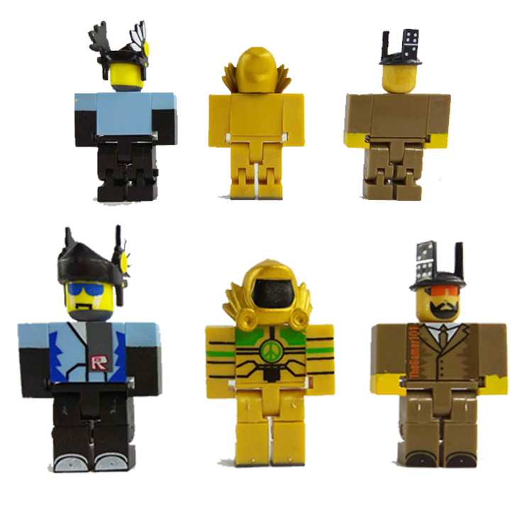 6pcs/set 2018 New Game Roblox Action Figure Oyuncak 7cm PVC Roblox Boys Cartoon Toy