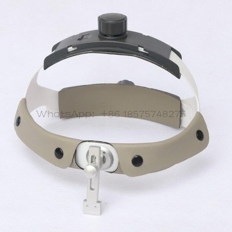 ทันตกรรม headband helmat สำหรับโคมไฟ LED แบบพกพาผ่าตัดทางการแพทย์ Loupe-ใน อุปกรณ์ฟอกฟันขาว จาก ความงามและสุขภาพ บน   1