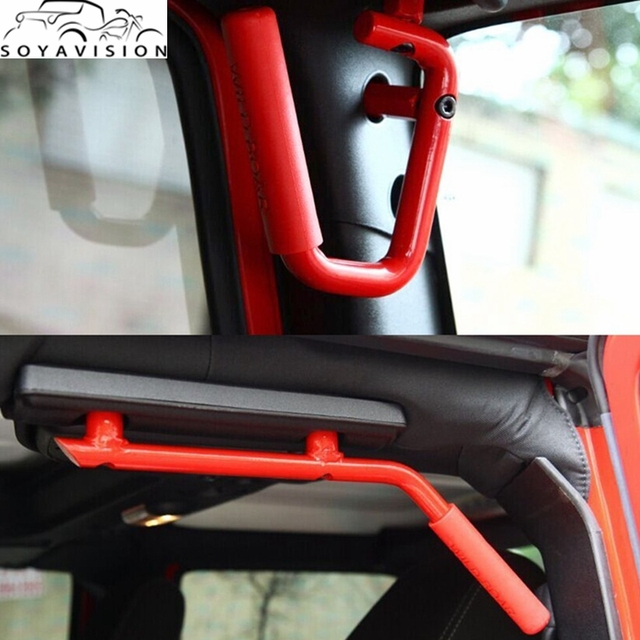 Nice Front Grab Handle Grab Bar For 2007 2017 Jeep Wrangler 2/4 Door Parts