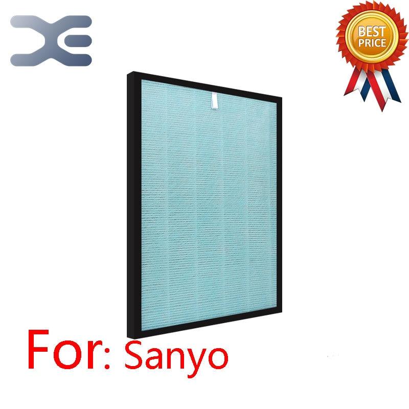 Adaptation For Sanyo ABC-FKH15B Purifier HEPA Filter ABC-FKH15B Air Purifier Parts adaptation for sanyo air purifier parts abc vw24 dust hepa filter abc fah94