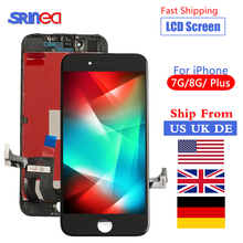 Perfect 3D Touch Grade AAA For iPhone 7 8 LCD 4.7 Screen Display 7Plus 8Plus Plus Pantalla Ship From US UK DE CN