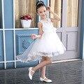 2017 Дети Летние девушки платье вечернее платье показать Корейский свадебное платье